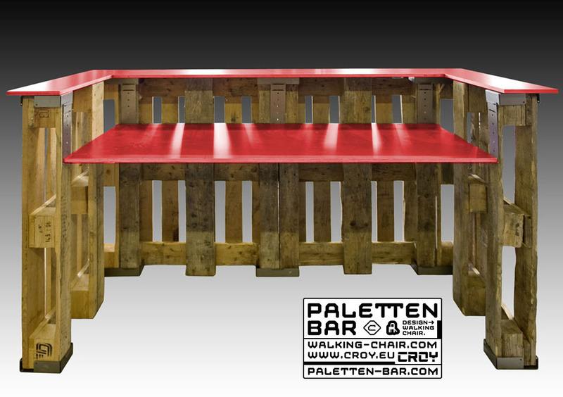 Paletten Bar Com Galerie