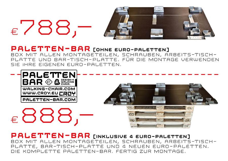 Paletten Bar Com Preise